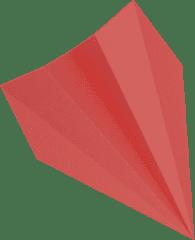 Avião de Papel Vermelho