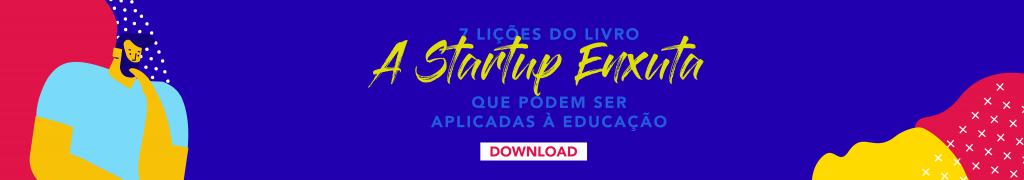 startup enxuta na educação