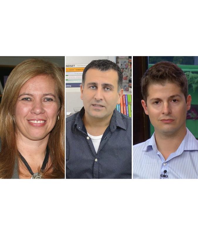 Lilian Bacich, Adolfo Tanzi Neto e Fernando de Mello Trevisani