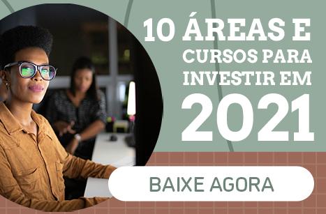 10 áreas e cursos para investir em 2021